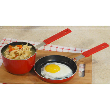 Cook Pro, Inc. Cook Pro Mini Aluminum 2-Piece Cookware Set