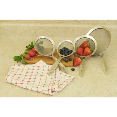 Cookpro 759 4 Pc Heavy Duty Stainless Steel Strainers