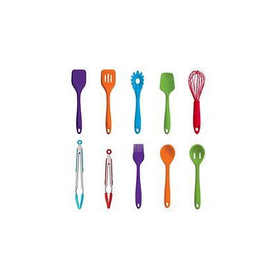 Art & Cook 10 Piece Silicone Utensil Set