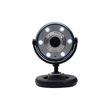 Gear Head Webcam - Blue, Black USB - WC1100BLU