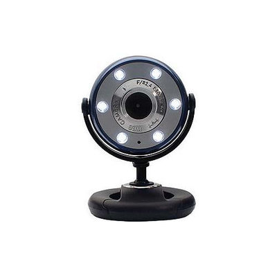 Gear Head Webcam - Blue, Black USB - WC1100BLU