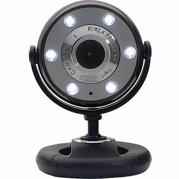 Gear Head WC1300BLK Quick 1.3MP WebCam - Black