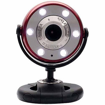 Gear Head WCF2750HDRED Quick HD WebCam Red/Black