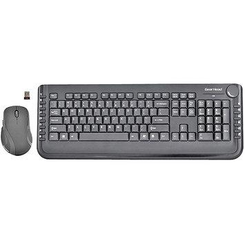 Gear Head-computer Gear Head Wireless Multimedia Keyboard With Laser Scroll Mouse