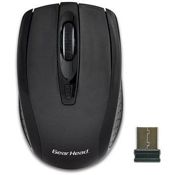 Gear Head-computer Gear Head 2.4GHz Wireless Optical Nano Mouse - MP2325BLK