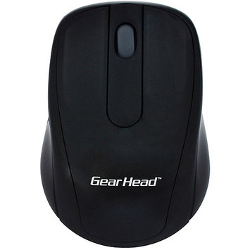 Gear Head, Llc Gear Head 2.4 GHz Wireless Optical Nano Mouse