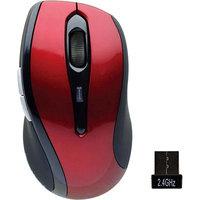 Gear Head, Llc Gear Head Red Optical Wireless Nano Mouse - OM6750W