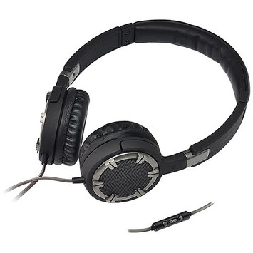 Gear Head, Llc Gear Head Dynamic Bass Multimedia Headphones With Microphone
