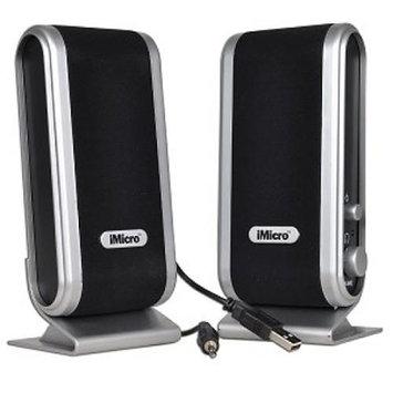 iMicro 2-Piece 2 Channel USB Powered Multimedia Speaker SetSP-IMD168B