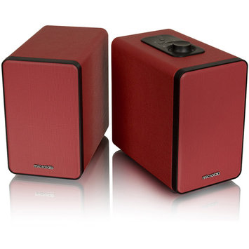 Microlab H21 Bluetooth Wireless Speaker, Red