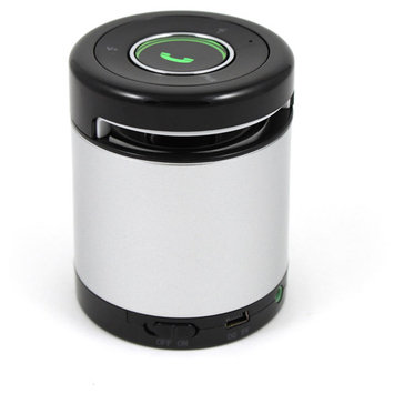 iKANOO BT012-SILVER Portable Bluetooth Speaker - Silver