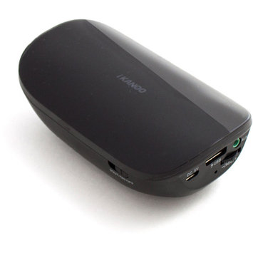 iKANOO BT014 Powerbank Bluetooth Speaker (Black)