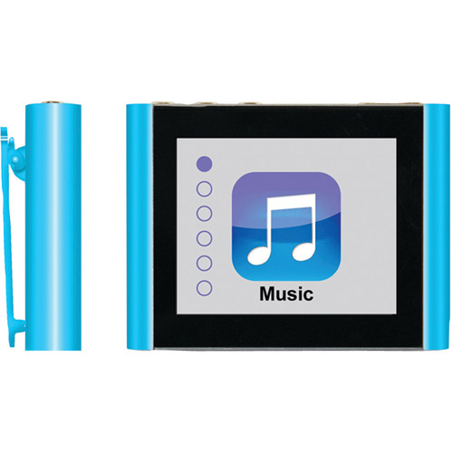Eclipse - 8GB* Mp3 Player - Blue