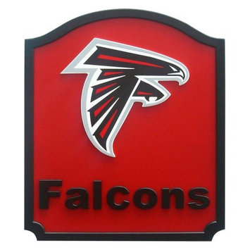 Fan Creations NFL Team Name Shield