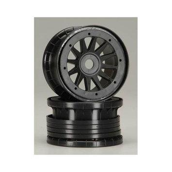 1721 12-Spoke Comp Beadlock Zero Offset Black 17mm (2) MAXC1721 MATRIX