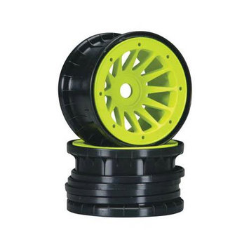 1736 12-Spoke Comp Beadlock 1/2 Offset Yellow 17mm (2) MAXC1736 MATRIX