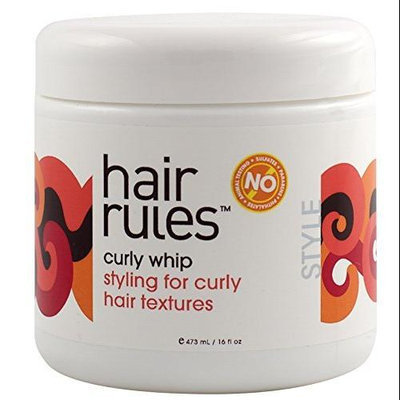 Hair Rules curly whip, 16 fl oz