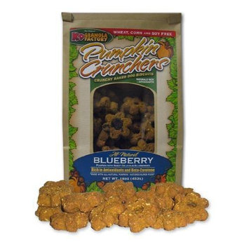 K9 Granola Factory Pumpkin Crunchers - Blueberry - 14 oz.