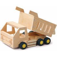 Red Tool Box Dump Truck Building Kit