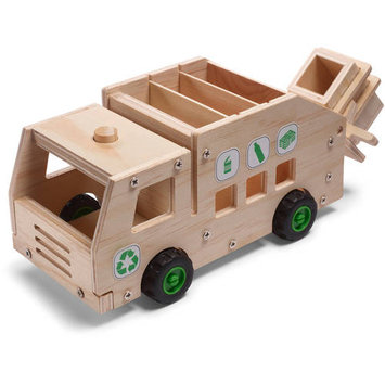 Red Toolbox Recycling Truck Kit