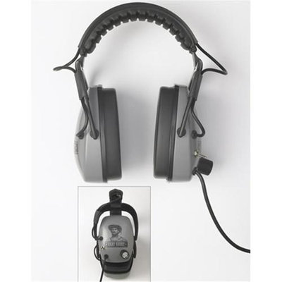 Detctropro Metal Detectors DetectorPro Gray Ghost Original Metal Detector Headphones