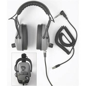 Detctropro Metal Detectors DetectorPro Gray Ghost NDT Metal Detector Headphones - Gray - Wired