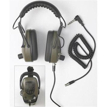 Detctropro Metal Detectors DetectorPro Nugget Buster NDT Metal Detector Headphones - Gray - Wired