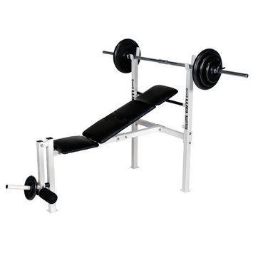 Body Flex Weight Adjustable Olympic Bench
