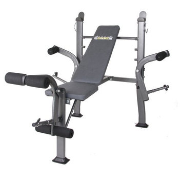 Hupa International Inc Body Champ BCB500 Standard Weight Bench with Butterfly Attachment