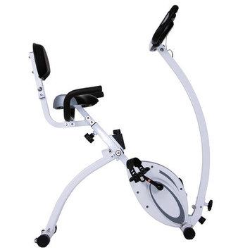 Body Flex Body Rider 2-in-1 Folding Upright/Recumbent Bike