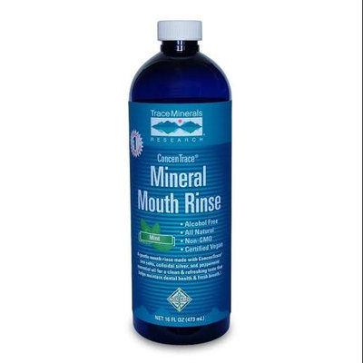 Trace Minerals Research ConcenTrace Mineral Mouth Rinse Mint 16 fl oz