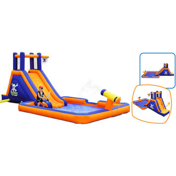 Blast Zone Buccaneer Inflatable Water Slide