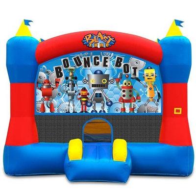 Vortex International Enterprises Blast Zone Magic Castle Commercial 13 Panel Bounce House