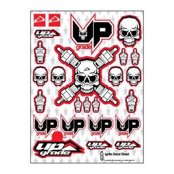 Ignite Universal Decal Sheet Red UPG9014 UPGRADE R/C