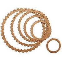 Spellbinders Nestabilities Dies - Petite Scallop Circle Large