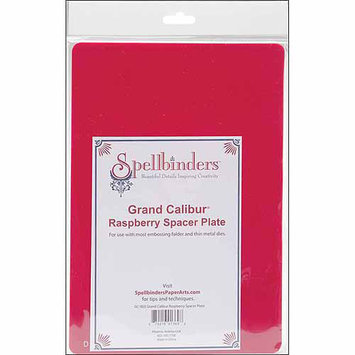 Spellbinders Grand Calibur Spacer Plate 8.25X11.75-Raspberry