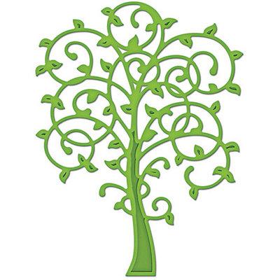 Spellbinders Die D-Lites-Whimsical Tree