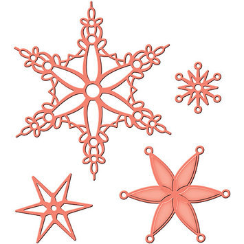 Spellbinders Shapeabilities Dies-Snowflake Bliss