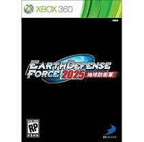 D3P Xbox 360 Earth Defense Force 2025