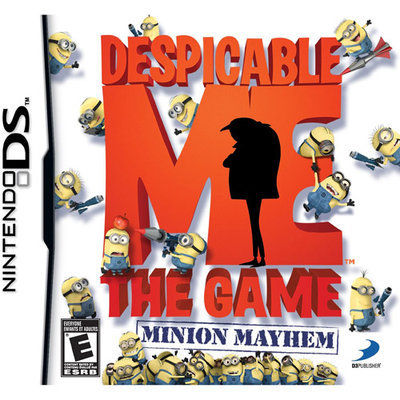 D3 Publisher Despicable Me: The Game Minion Mayhem for Nintendo DS
