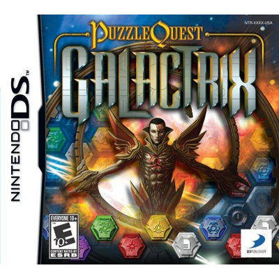 D3 Publisher Puzzle Quest: Galactrix Nintendo DS Game D3PUBLISHER