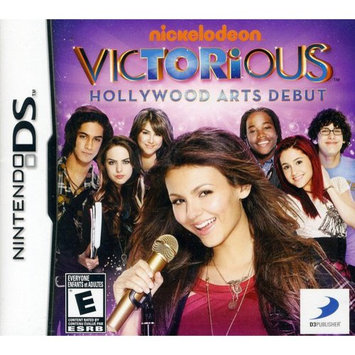 Victorious: Hollywood Arts Debut Nintendo DS Game D3PUBLISHER