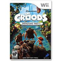 D3 Publishing D3 Publisher Of America 34024 Croods Prehistoric Party Wii