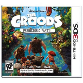 D3 Publishing D3 Publisher Of America 36003 Croods Prehistoric Party 3ds