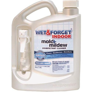 Wet & Forget 64 oz Indoor Mold And Mildew Disinfectant - 4 Pack