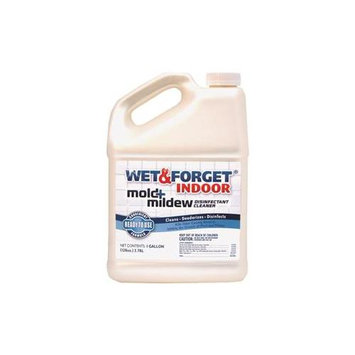 Wet & Forget Cleaning Products 1-gal. Indoor Mold and Mildew Disinfectant Cleaner 802128