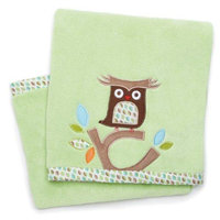 Skip Hop Treetop Friends Plush Blanket- Green