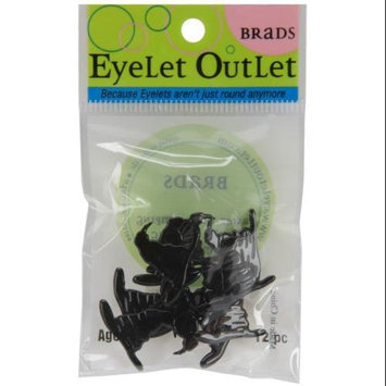 Eyelet Outlet Brads-Wizard Or Witch Hat 12/Pkg