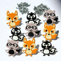 Eyelet Outlet Brads-Woodland Animals