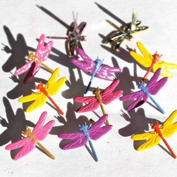Eyelet Outlet Brads-Dragonfly Bright